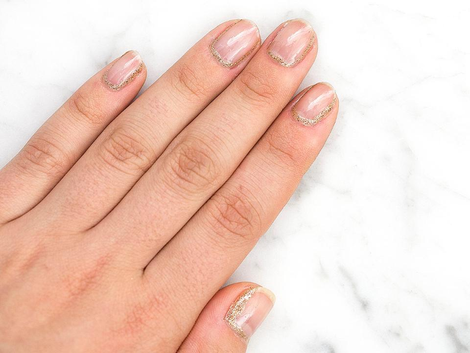 How to do a glitter cuticle manicure - Video Today\'s Parent