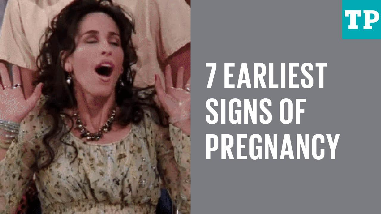 7 early pregnancy signs
