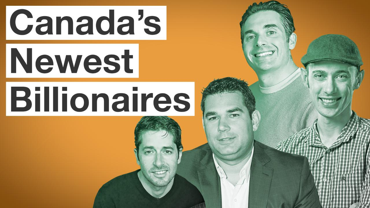 Canada's Richest People: The Complete Top 100 Ranking